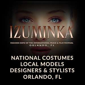 Izuminka fashion expo of the international peace and film festival