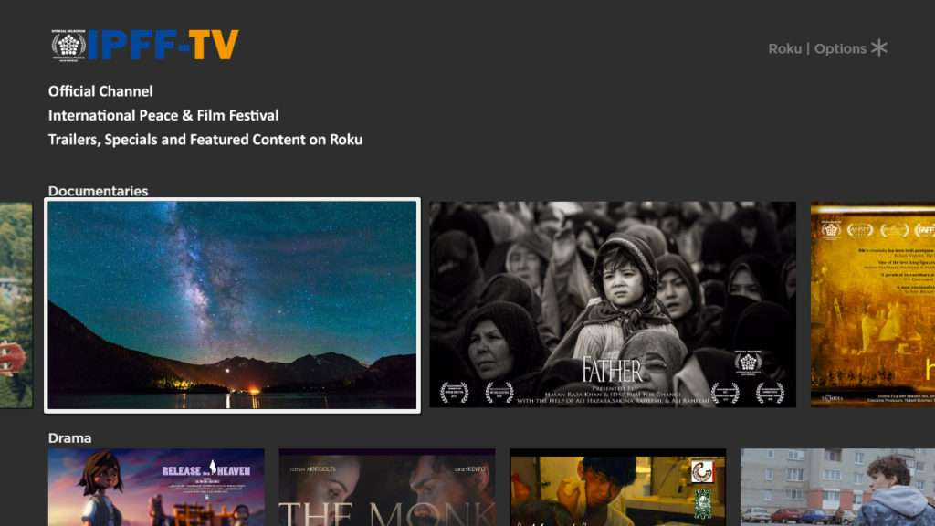 International Peace & Film Festival Launches TV Channel